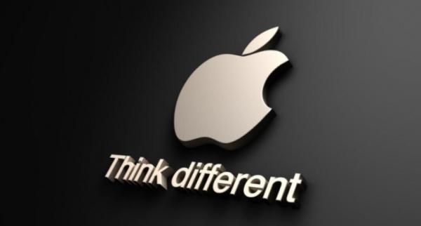 애플 로고와 슬로건'Think Different'